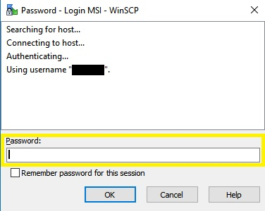 How do I use WinSCP to transfer data? | The Minnesota Supercomputing