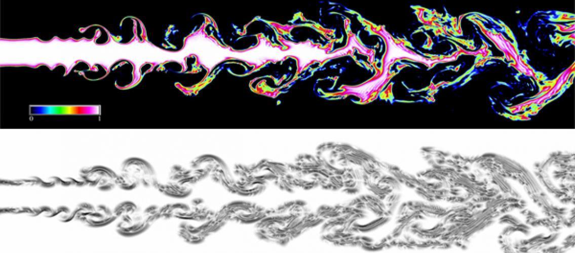 simulation of flow breakup