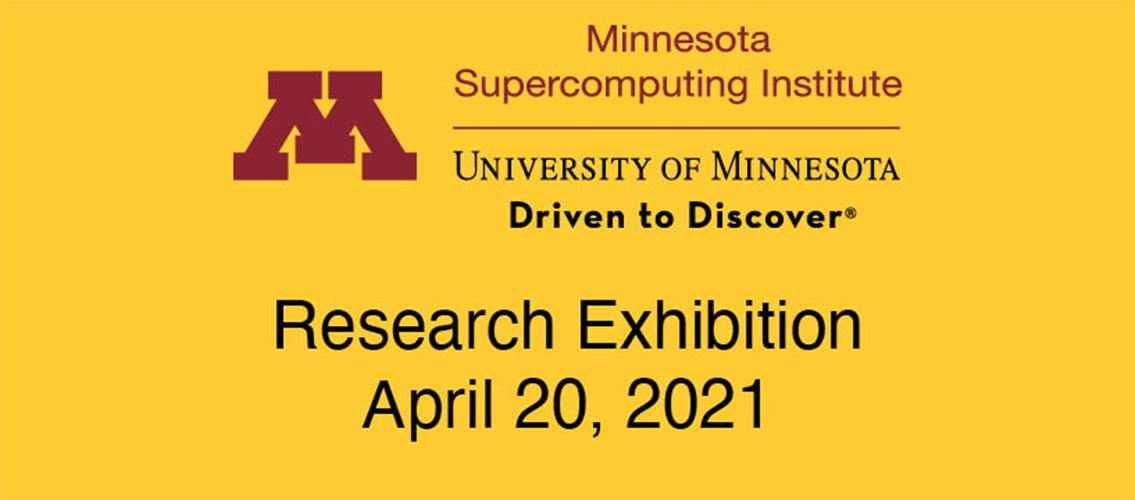 "banner with MSI wordmark and words ""Research Exhibition, April 20, 2021"""