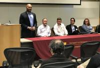 panel discussion at 2018 MSI Research Exhibition